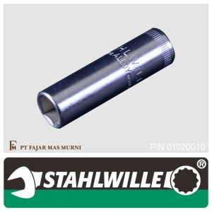 Stahlwille – DEEP SOCKET 1/4″, 6 POINT, SIZE 10 mm
