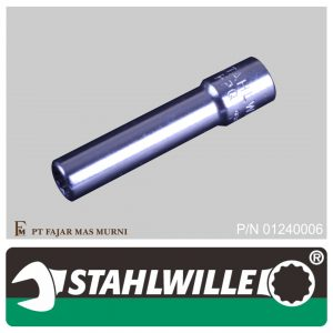 Stahlwille – DEEP SOCKET 1/4″, 12 POINT, SIZE 6 mm