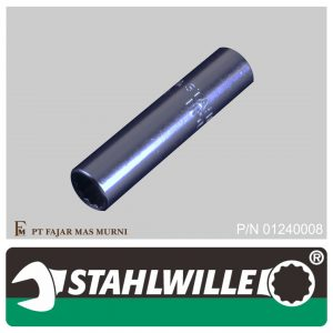 Stahlwille – DEEP SOCKET 1/4″, 12 POINT, SIZE 8 mm
