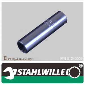 Stahlwille – DEEP SOCKET 1/4″, 12 POINT, SIZE 9 mm