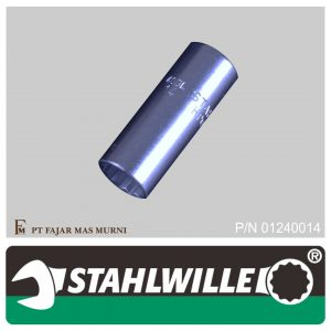 Stahlwille – DEEP SOCKET 1/4″, 12 POINT, SIZE 14 mm
